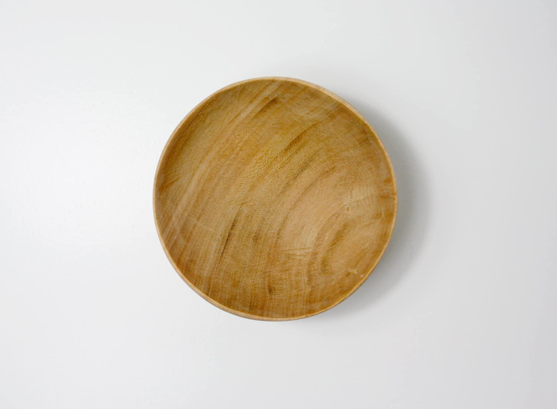 Schaelchen, aus mandelbaumholz